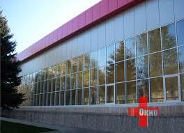 Алюминиевые витражи от компании «Окно Плюс»